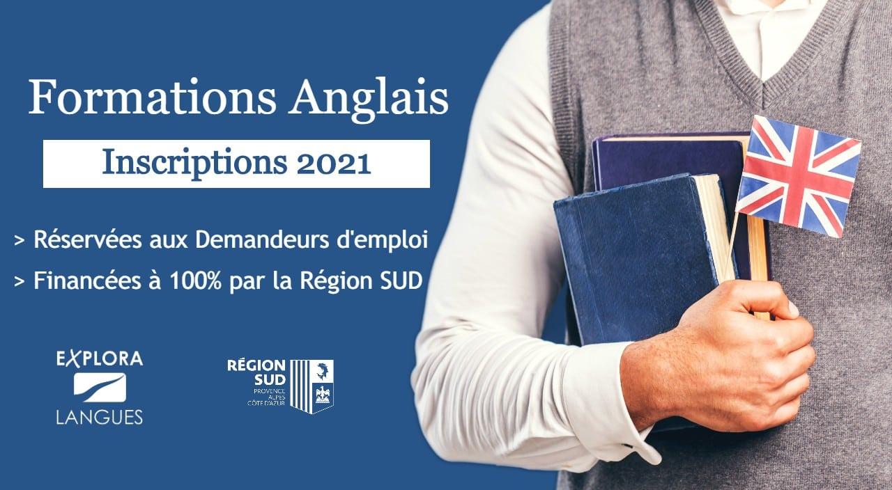 Calendrier Pole Emploie 2021 Formations Anglais demandeurs d'emploi – Calendrier 2021 | Explora