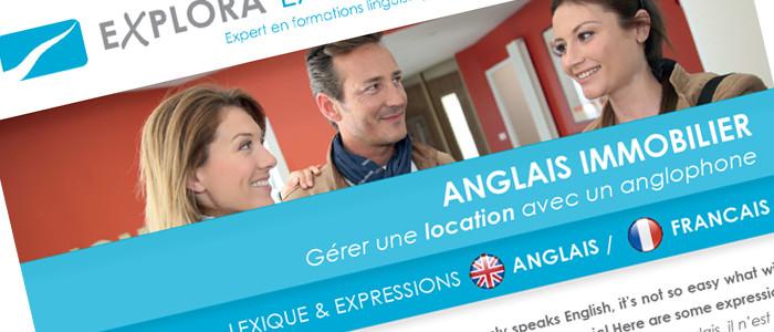 Fiche Business : Gérer une location avec un anglophone