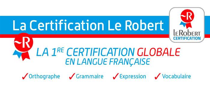 Français orthographe : découvrez la certification Le Robert