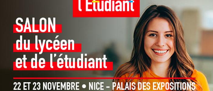 Explora langues sera présent au salon de l'étudiant de Nice 2019 !