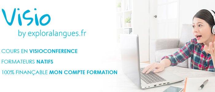 Avantages des cours de langues à distances en visioconférence