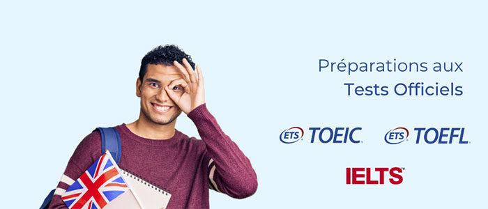 Étudiants : préparer les examens du TOEIC / TOEFL / IELTS avec un formateur expérimenté